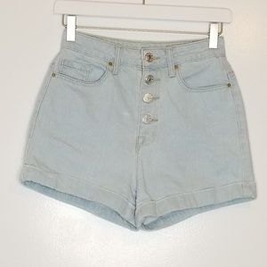 BDG by Urban Outfitters High Rise Roxy Shorts